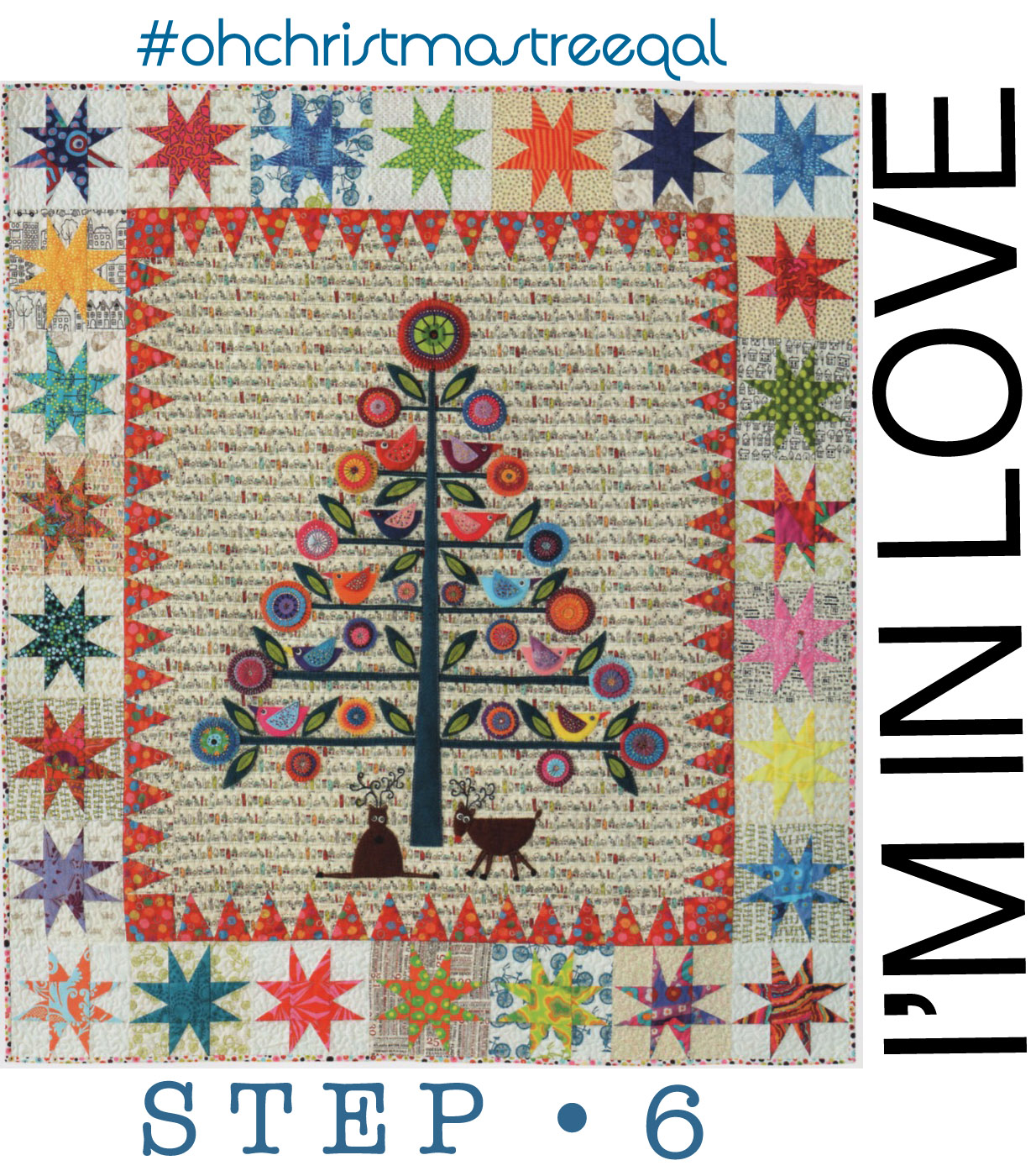 Moderne Quilts Oh Christmas Tree Qal Step 6 And Giveaway Occasionalpiece Quilt