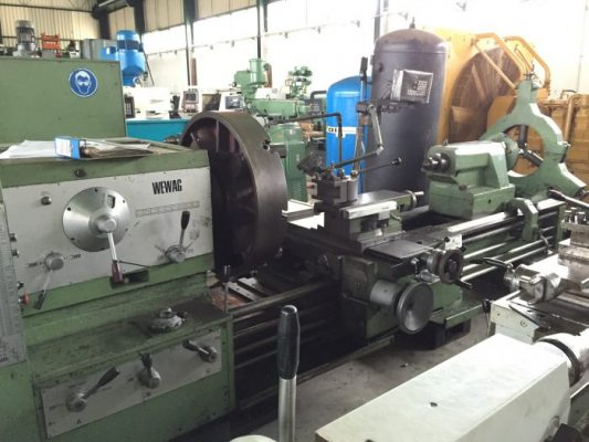 Torno Mecanico WEWAG S 400/2000 / WEWAG S 400/2000 Conventional Lathe