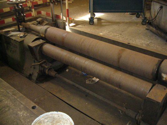 Calandra Hidráulica 3 Rolos Herkules Wetzlar / Roll Bending Machine 3 Rolls Herkules Wetzlar