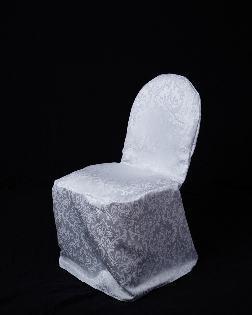 Chair Cover Damask Banquet Chair Cover