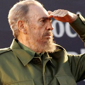 CUBA'S PRESIDENT FIDEL CASTRO LOOKS AT THE CROWD DURING A MASS RALLY IN CORDOBA, ARGENTINA, JULY 21, 2006. CASTRO, WHO SEIZED POWER IN A 1959 REVOLUTION AND GOVERNED CUBA UNTIL 2006, DIED NOV. 25 AT THE AGE OF 90. / PHOTO: (CNS PHOTO/ANDRES STAPFF, REUTERS)