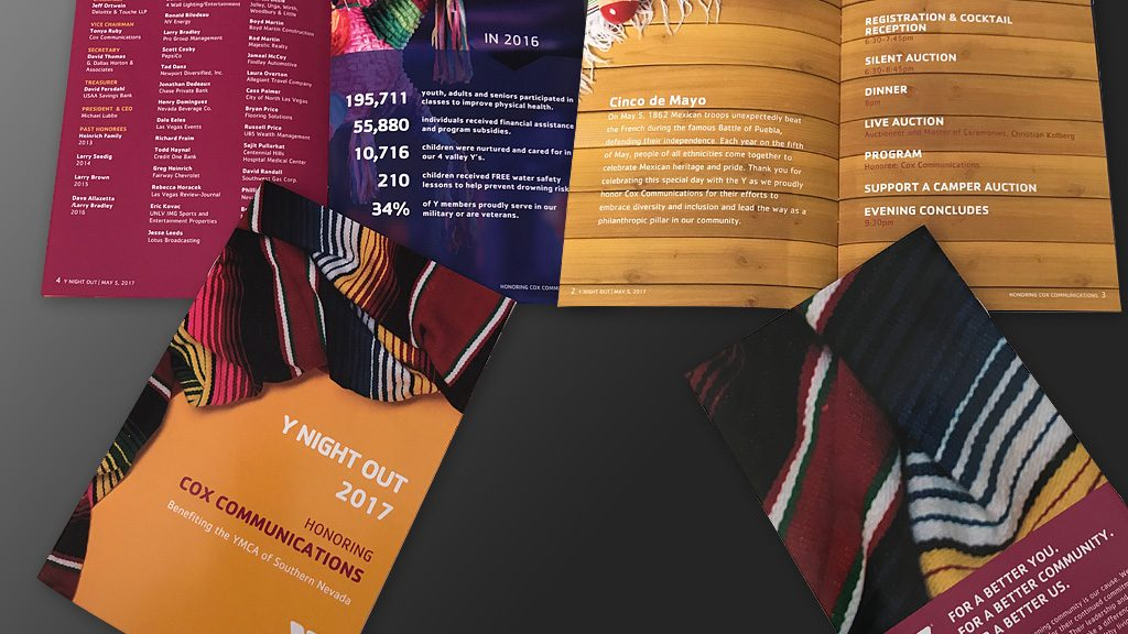 Event Program Booklets - Professional Print Design