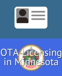 OTA Licensing in Minnesota
