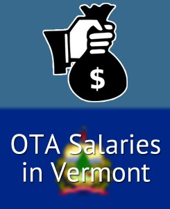 OTA Salaries in Vermont's Major Cities