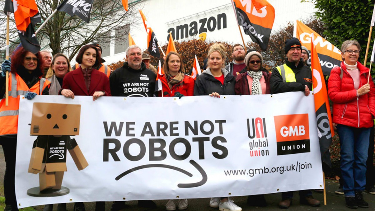 Black Friday In Germany On Strike Amazon Workers Walk Out In Germany Spain Italy And