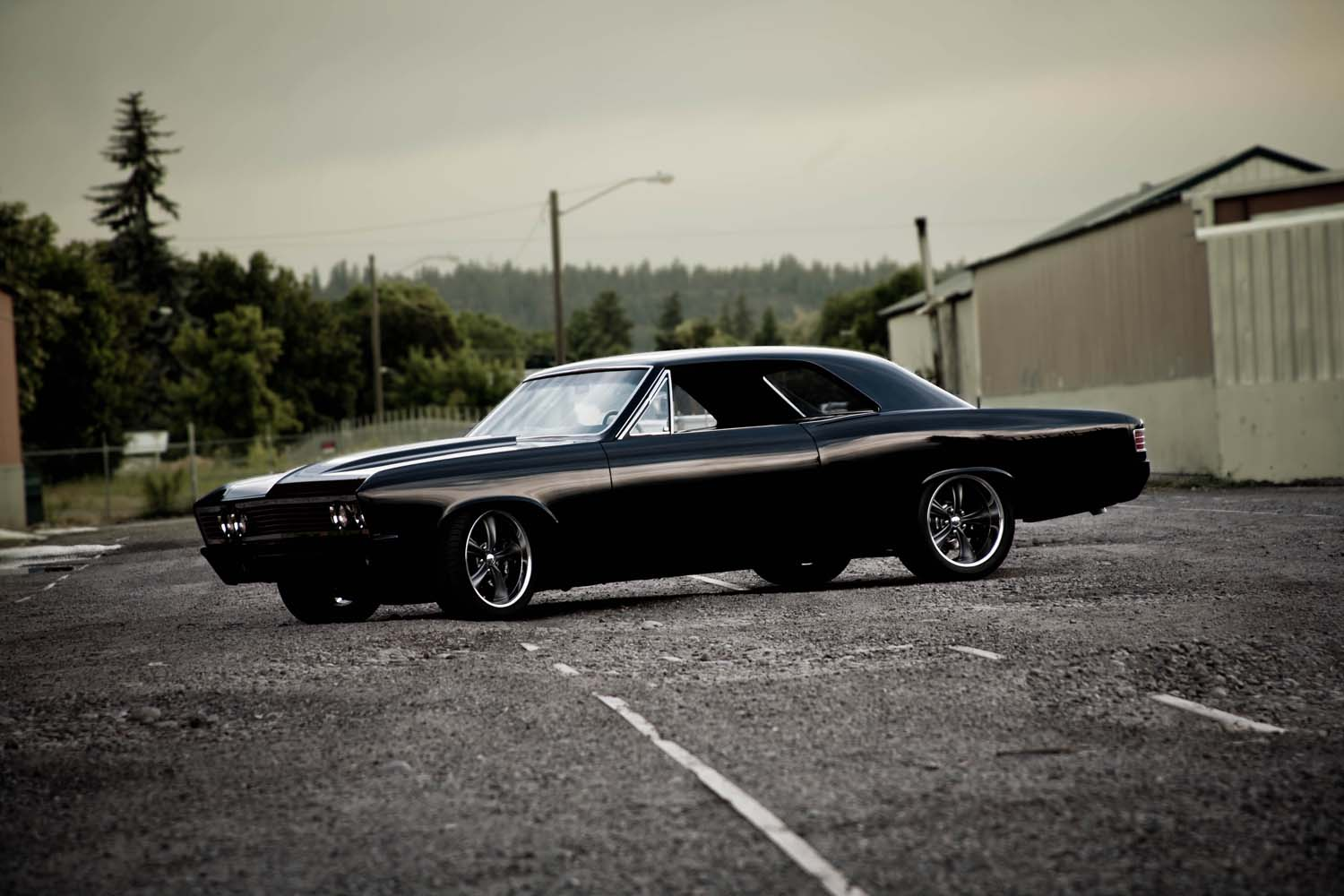 Old Classic El Camino Muscle Cars Wallpaper Chevelle Ocd Customs