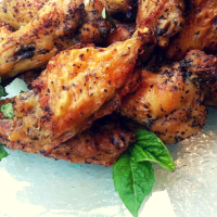 Crispy Herbed Chicken Wings