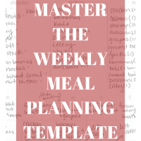 How to Master the Weekly Meal Plan