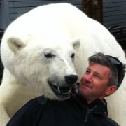 Ben Wallis polar bear encounter