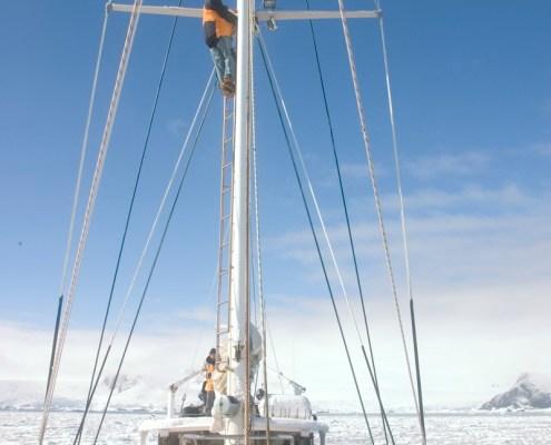Australis in Antarctic pack ice