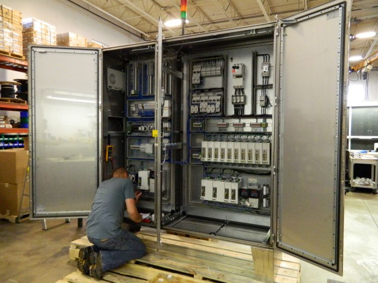 Custom Electrical Control Boxes Cabinets And Panels Oc