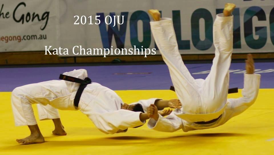 2015 OJU Kata Championships