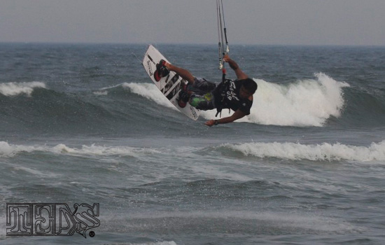 Kitesurfing@Kujukuri