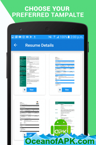 resume builder apk free download