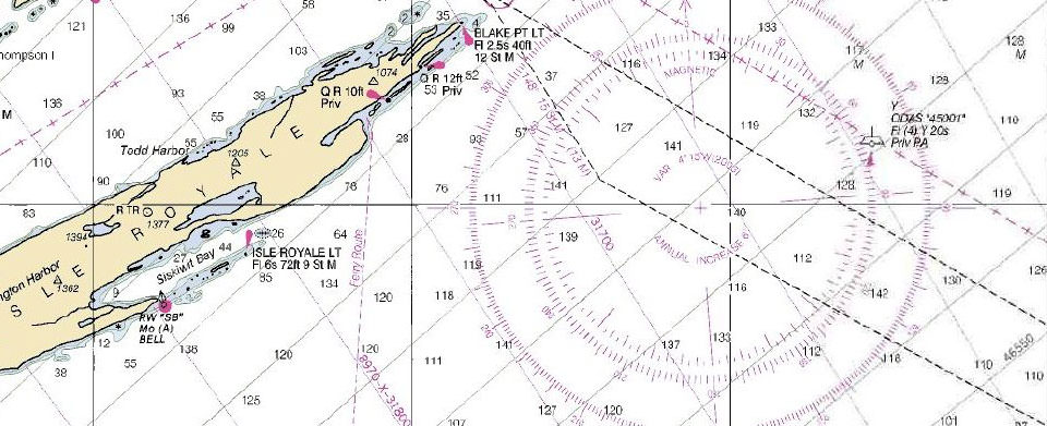 What\u0027s the difference between a nautical chart and a map?