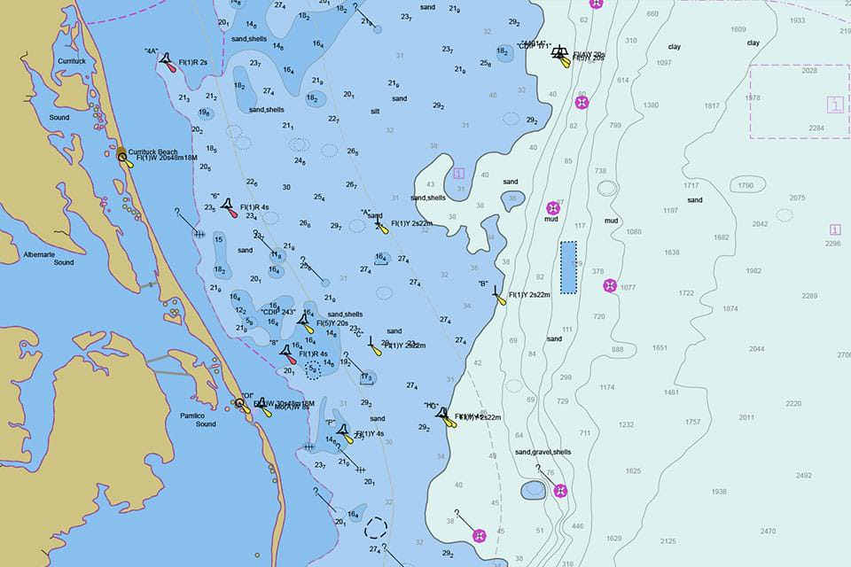 What is a nautical chart?