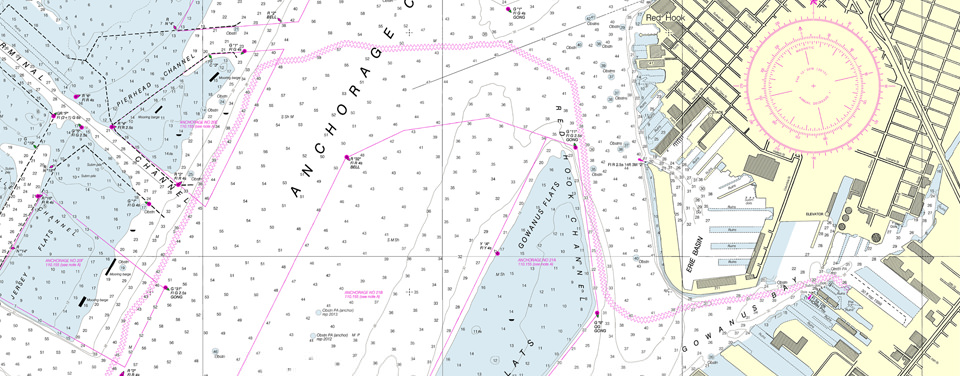 A New Nautical Chart for New York Harbor