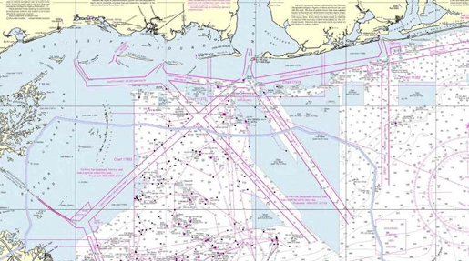 NOAA Nautical Charts Display Deepwater BP Oil Spill Projections