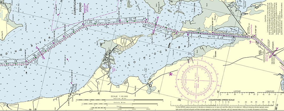 Free PDF Nautical Charts Part of a \u0027New Wave\u0027 in NOAA Navigation