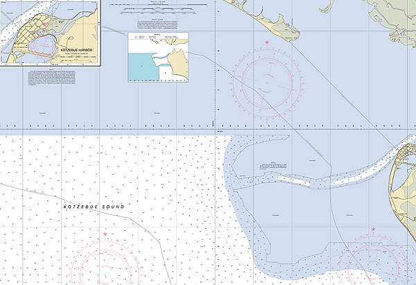 New Nautical Chart for Northwest Alaska Assists Growing Shipping in