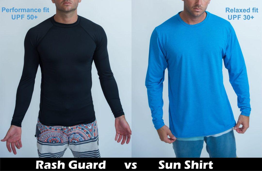 Rashguard vs  sunsshirt