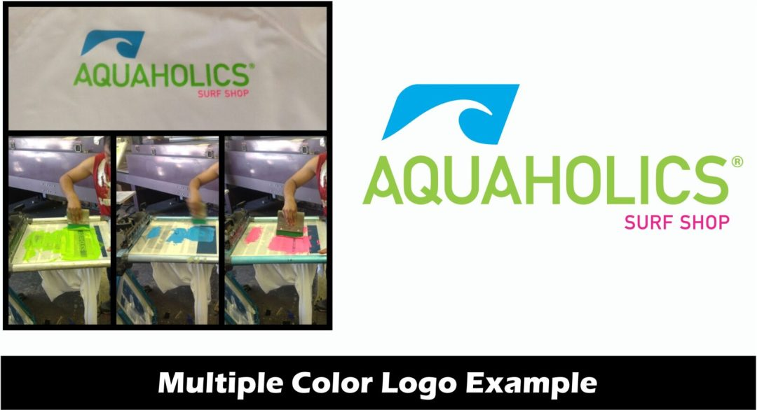 multiple color logo