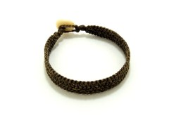Ocean Tuff Jewelry - Hand-Woven Bracelet in Natural (3-strand)