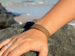 Ocean Tuff Jewelry - 4-Strand Bracelet in Natural