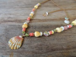 Ocean Tuff Jewelry - Spring Equinox Sunrise Shell Necklace
