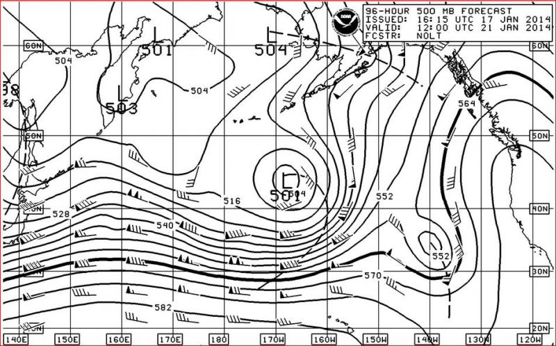 Ocean Weather Services - The use of the 500 MB Chart at Sea
