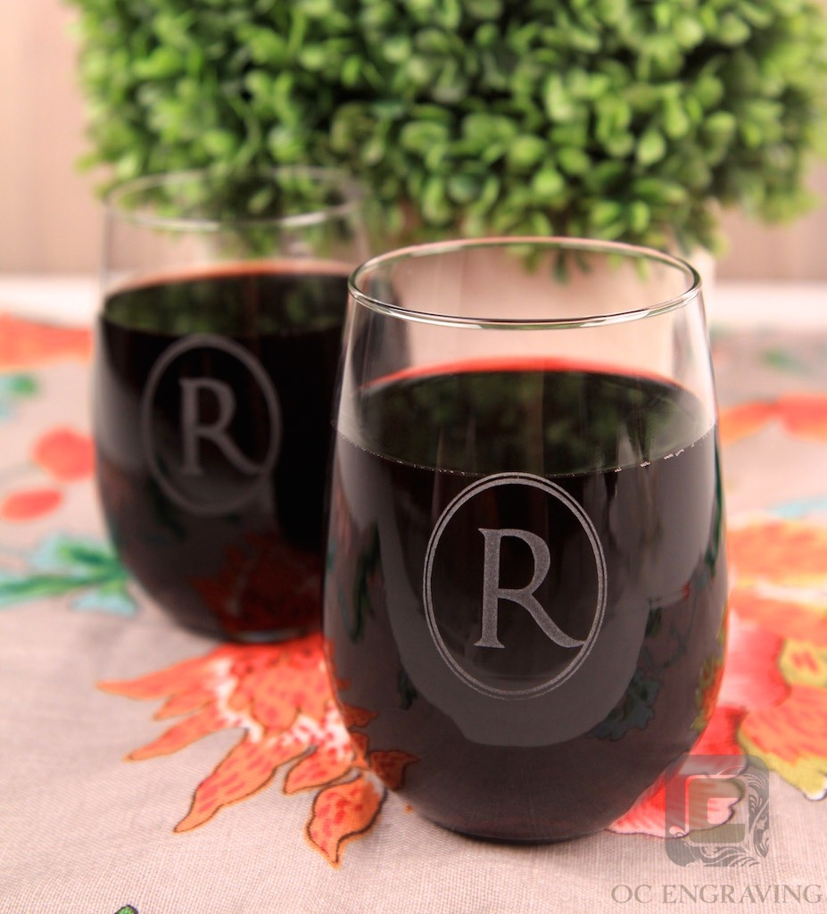 Red Wine Glasses For Sale Stemless Wine Glass