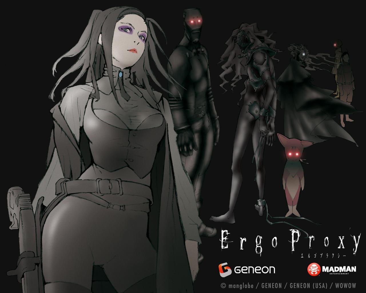 Anime Steampunk Girl Wallpaper Anime Ergo Proxy Ocio Inteligente