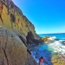 Laguna Beach Sea Cave and Hidden Swimming Pool