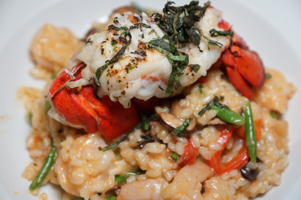 Lobster Tail And Risotto | Lobster House