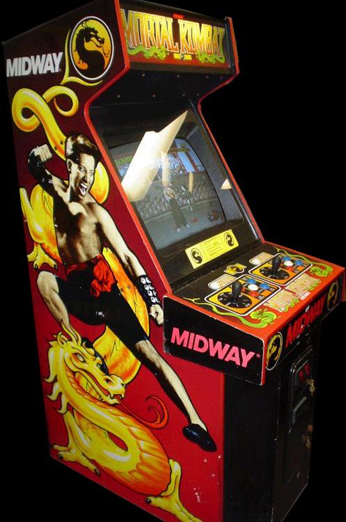 Game Mortal Kombat Arcade 1992 Midway Oc Remix