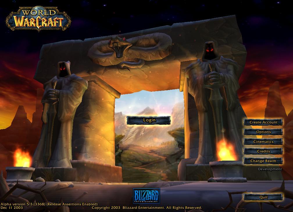 24 Wallpaper Hd Game World Of Warcraft Windows 2004 Blizzard