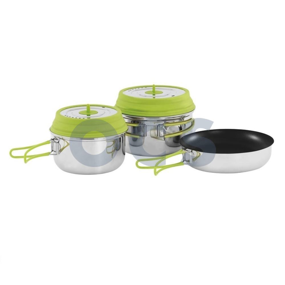 Pannen Set Outwell Pannenset Gastro Pannen Ketels Servies Bestek