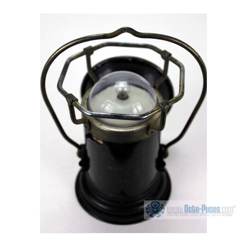 Lampe Osier Lampe Militaire Pernet, Ancienne - Octo-puces