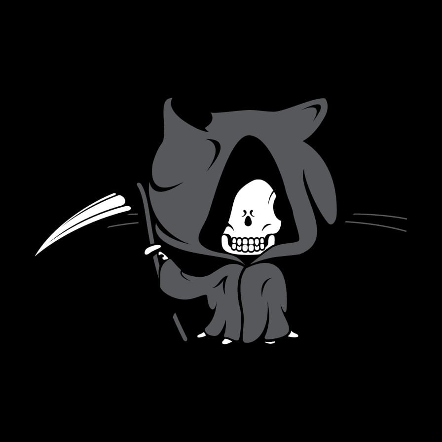 Wallpaper Black Dark Grim Repo Github Octodex