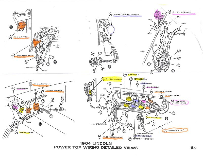 1960 Lincoln Engine Diagram Wiring Diagram