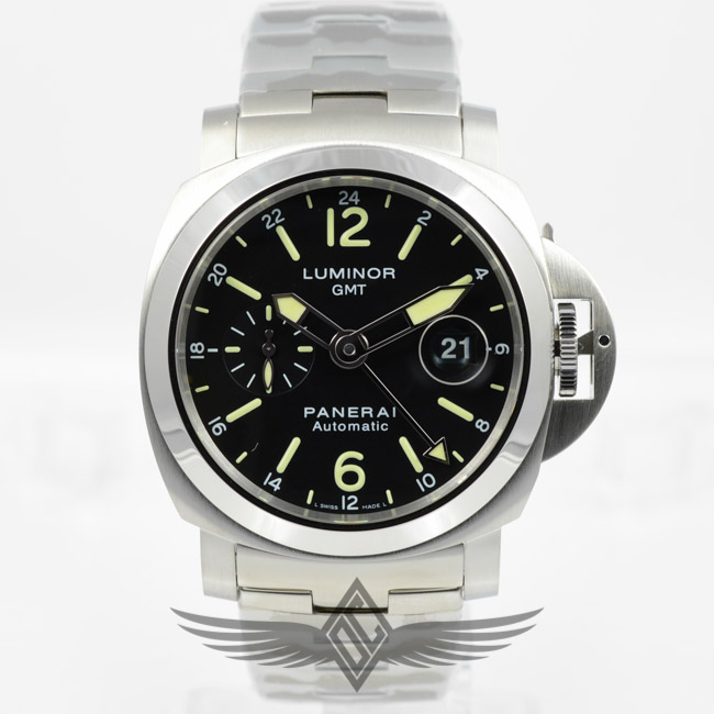 Panerai Pam00297 Luminor Marina Gmt 44mm Stainless Steel