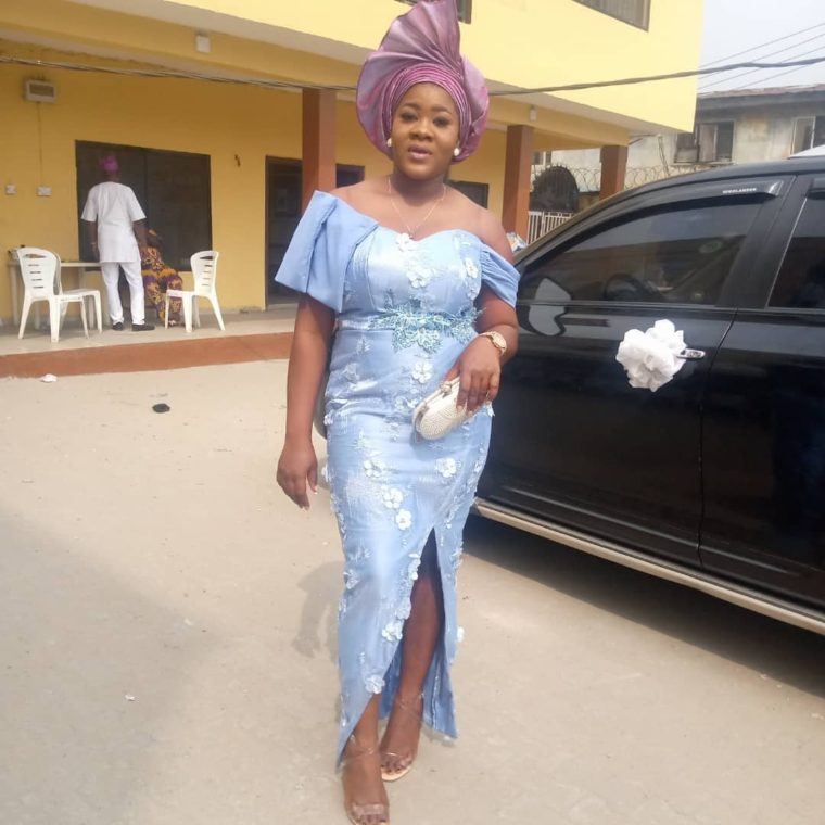 Asoebi In Lace Style 20 Photos; Latest and Most Recent Asoebi In Lace Style