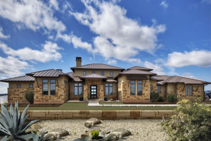 Brick Craftsman House Hill Country Contemporary - Archived Projects - Portfolio