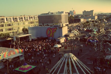 OF Tour 2012 – OFWGKTA Carnival, Los Angeles