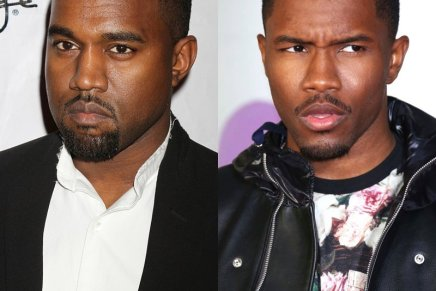 Frank Ocean Featured in Kanye's New Slaves