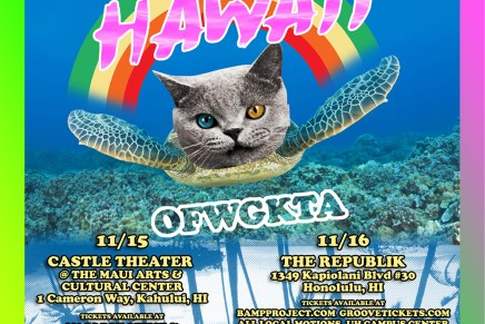 Odd Future Performing At Castle Theater – Kahului, HI 11/15