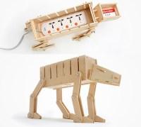 DIY Star Wars AT-AT Cable Organizer and Card Holder