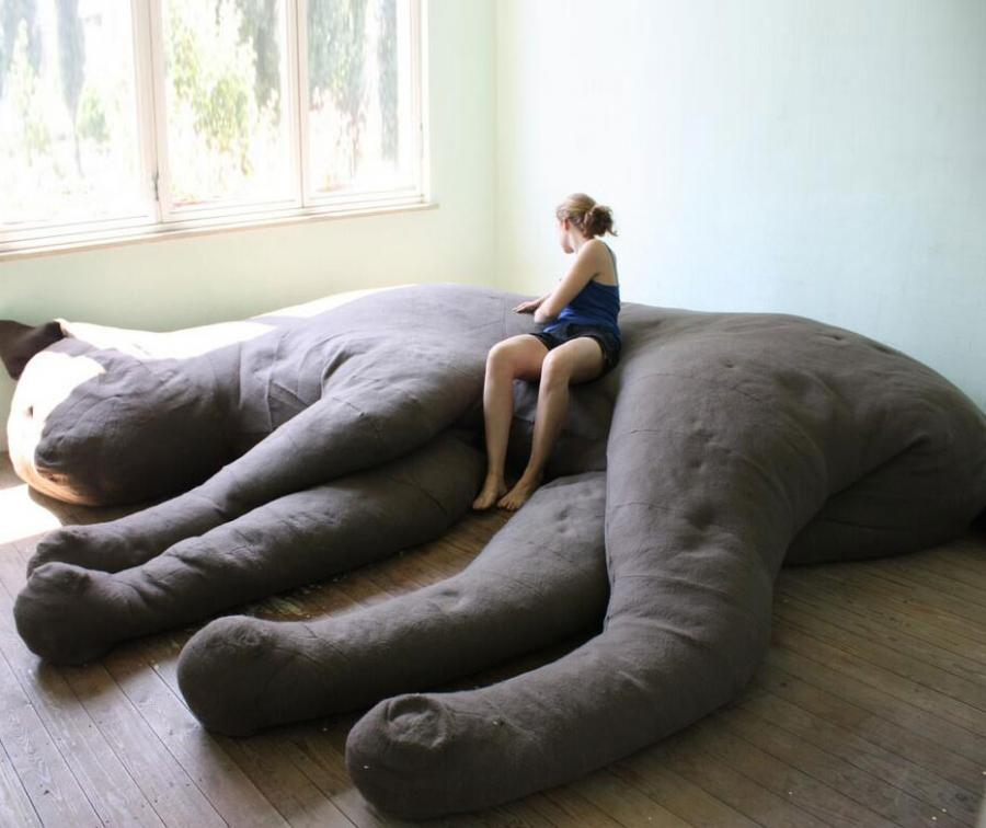 Sofa Art Pictures Giant Cat Sofa