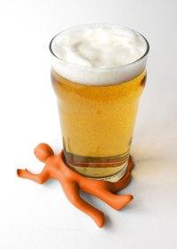 Splattered Man Drink Coaster