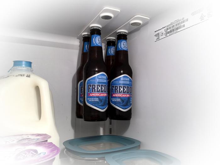 Bottleloft Magnetic Beer Bottle Attachment For Your Fridge